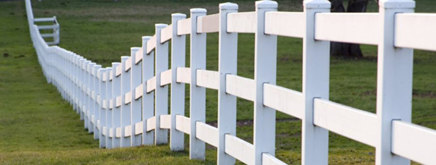 Rail Horse Fence